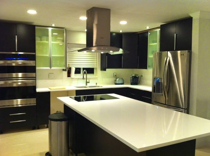 Ikea black kitchen cabinets home furniture design - Black kitchen cabinets ideas ...