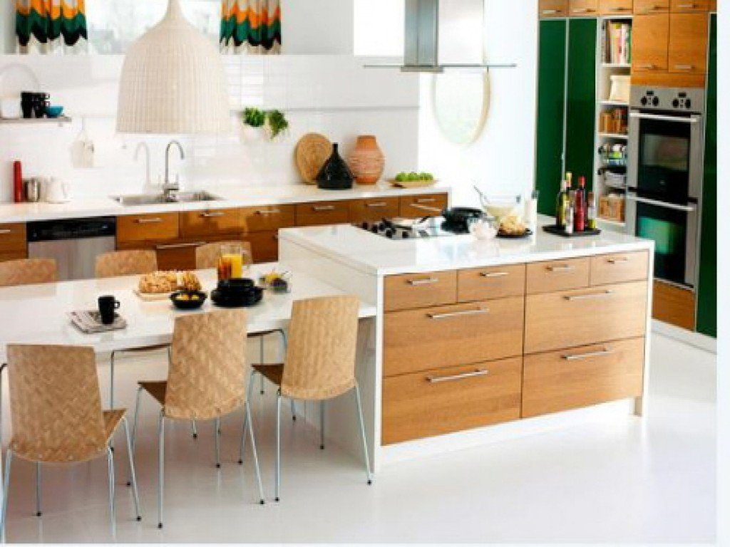 Large Kitchen Island Images