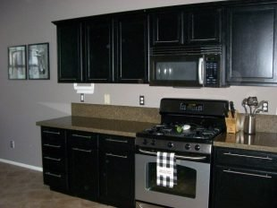 Painting Black Kitchen Cabinets