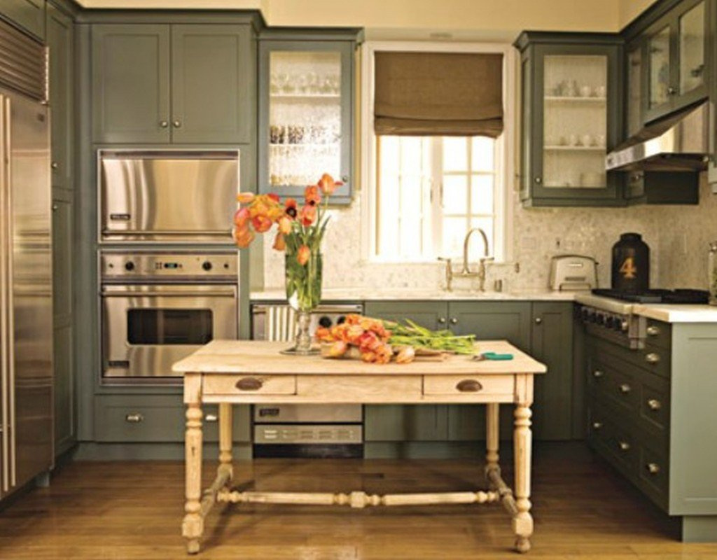 Painting ikea kitchen cabinets home furniture design - Painted kitchen cabinets ideas ...