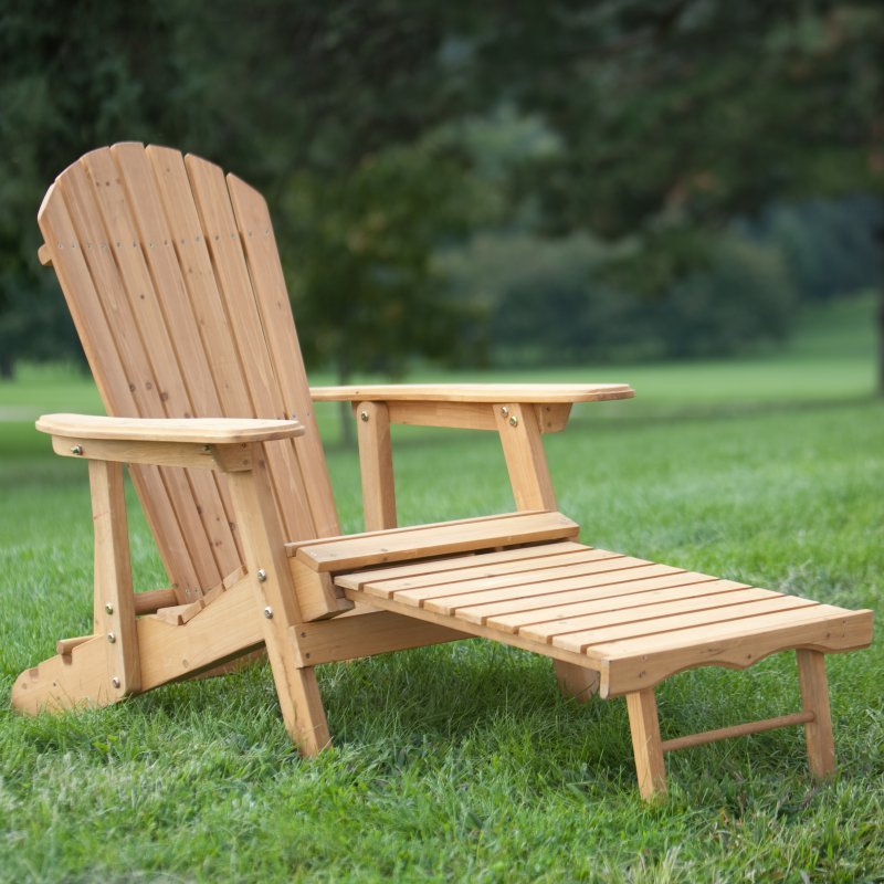 Adirondack Chair Ottoman Home Furniture Design