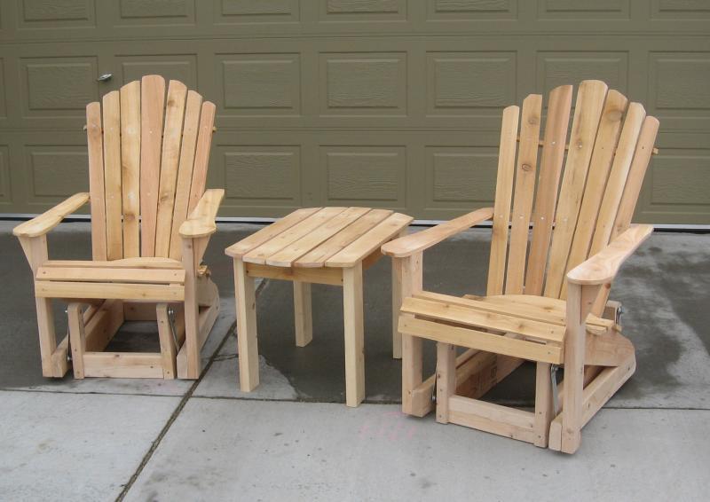 Adirondack Glider Chair Home Furniture Design