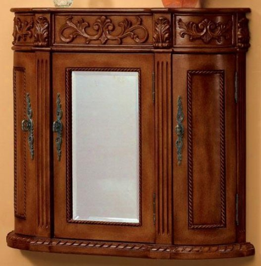 Antique bathroom wall cabinet home furniture design - Antique bathroom wall cabinets ...