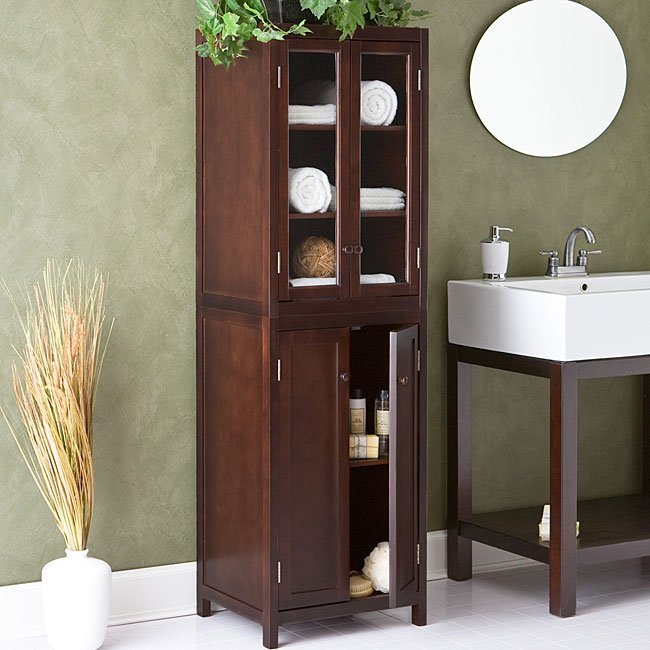 Bathroom cabinet storage ideas home furniture design for Bathroom cabinet organizer ideas