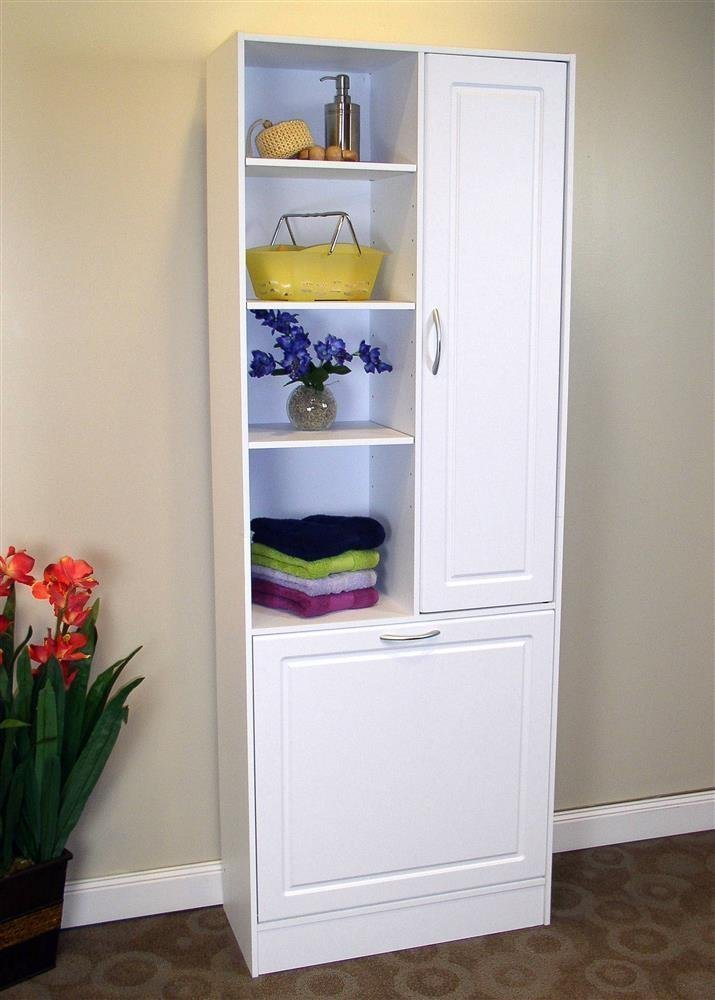 Bathroom storage cabinets with doors home furniture design for Bathroom armoire cabinets
