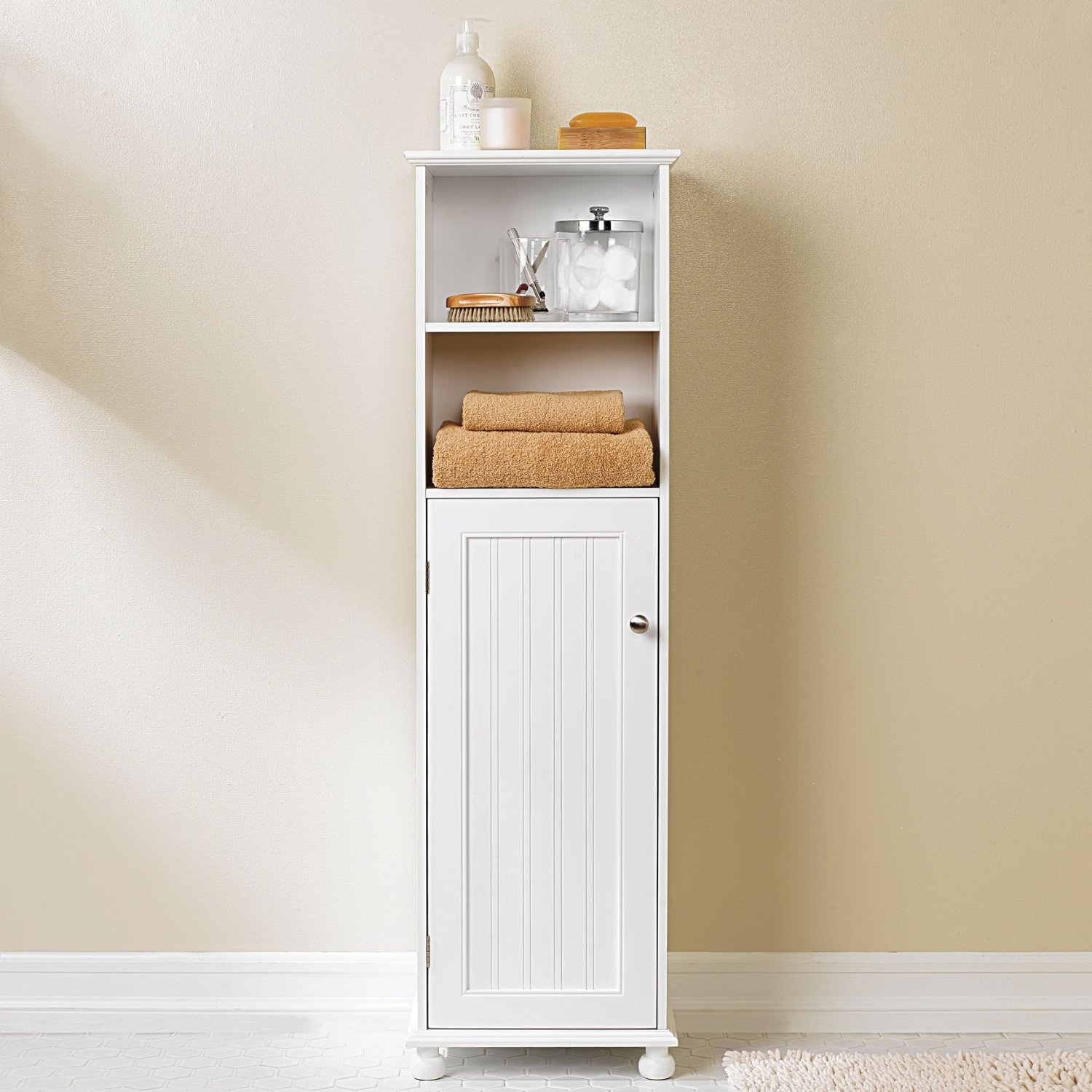 Add character to your home interiors with bathroom storage for Bathroom cabinet ideas photos