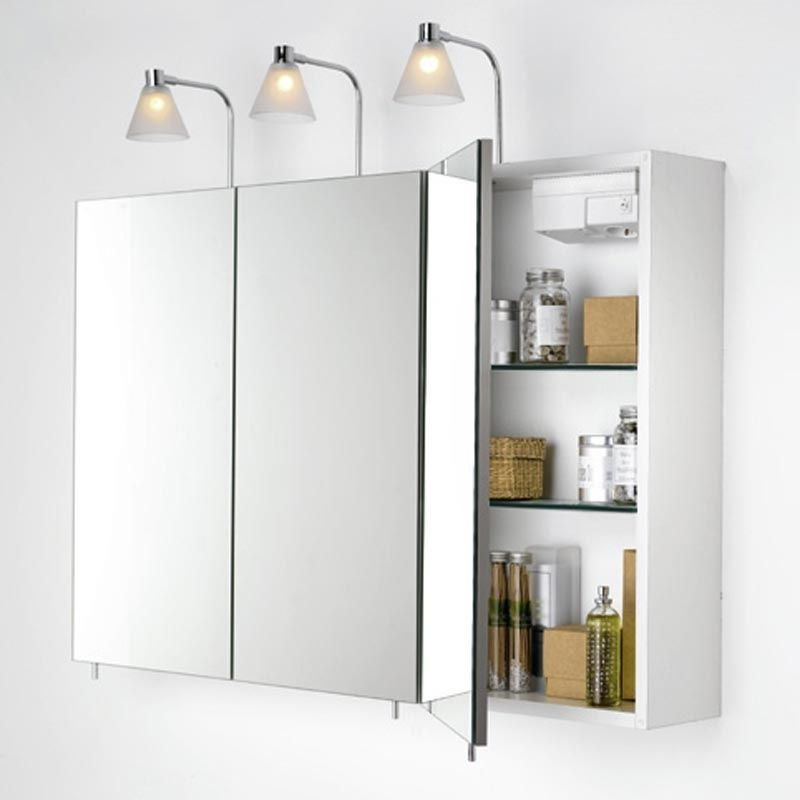 Bathroom wall cabinets with mirrors home furniture design Bathroom mirror cabinet design
