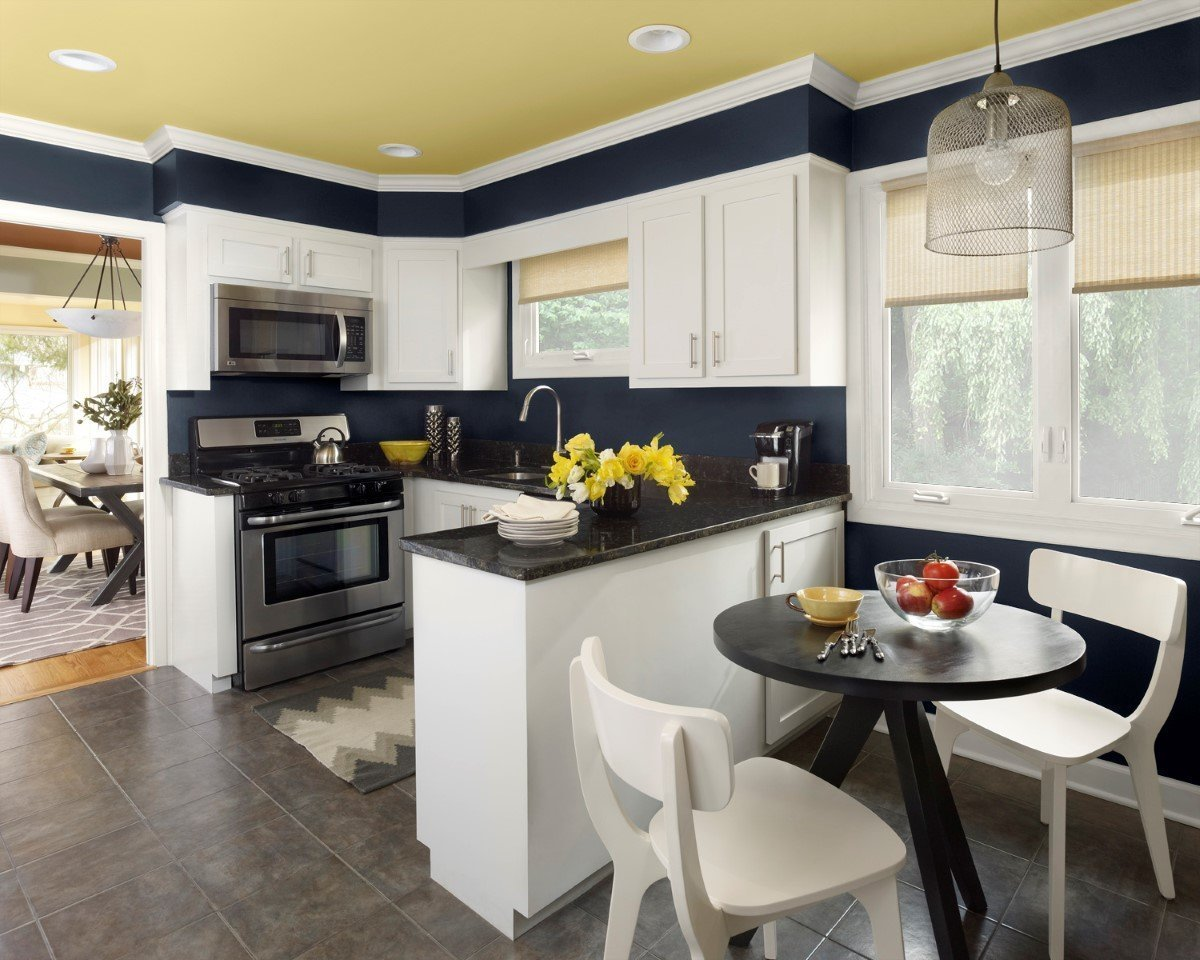 Paint Colors For Kitchen Walls And Cabinets