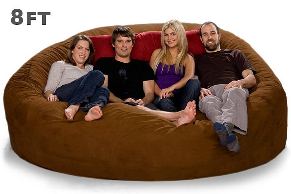 Biggest Bean Bag Chair Home Furniture Design