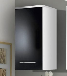 Menards bathroom vanity cabinets home furniture design - Bathroom cabinets black gloss ...