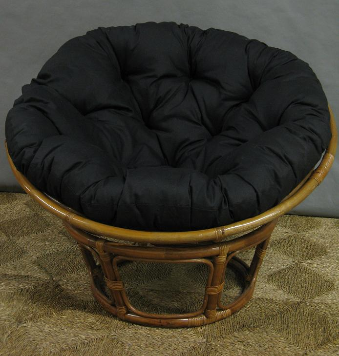 black papasan chair home furniture design