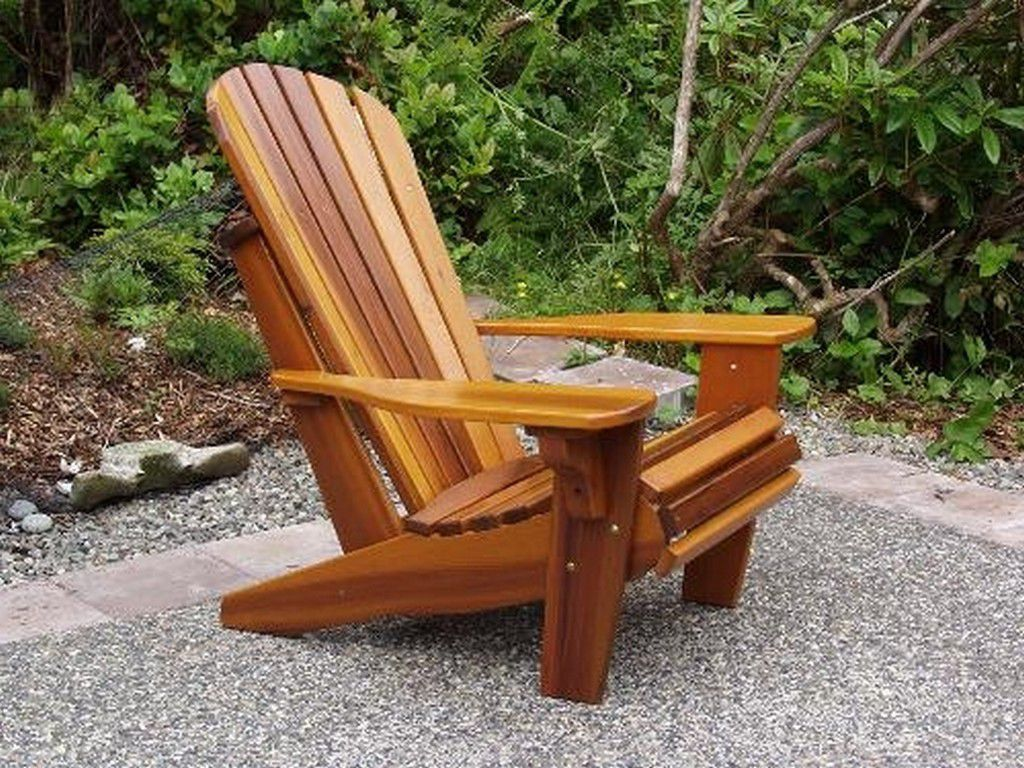 Cedar adirondack chair kits home furniture design for Garden chair designs