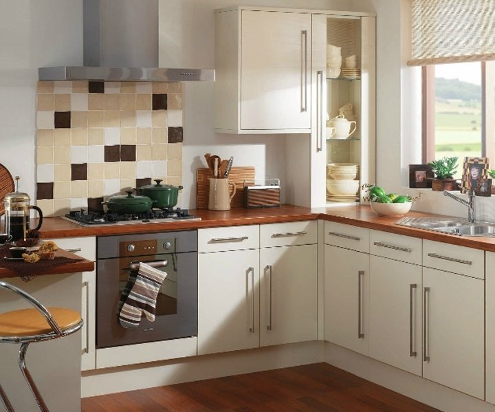 Cheap white kitchen cabinets home furniture design for Cheap kitchen unit doors