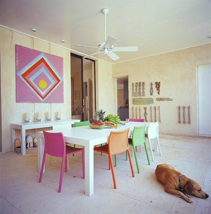 Colorful Dining Chair: Colorful Dining Room Chairs
