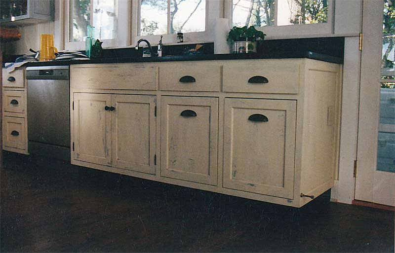 distressed white kitchen cabinets home furniture design