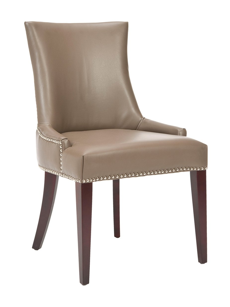 Faux leather dining room chairs home furniture design for Leather dining room sets
