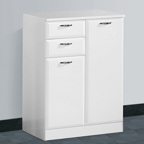 Bathroom freestanding cabinets white