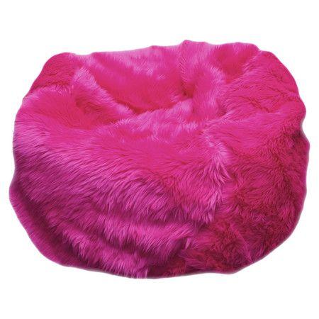 Fuzzy Bean Bag Chair Home Furniture Design