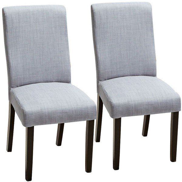 Grey Upholstered Dining Chairs Home Furniture Design