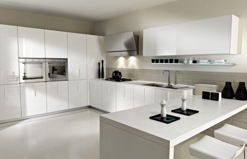 Houzz kitchens white cabinets