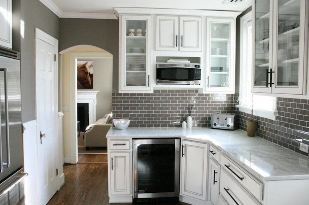 Kitchen Backsplashes with White Cabinets - Home Furniture ...