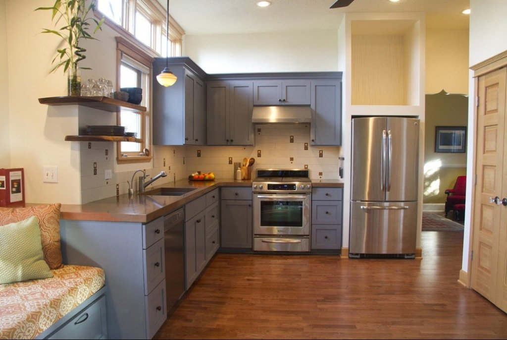 How To Get A Smooth Finish When Painting Kitchen Cabinets