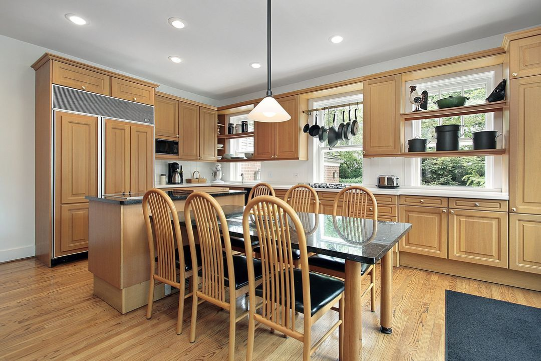 Kitchen Colors With Light Wood Cabinets Home Furniture Design