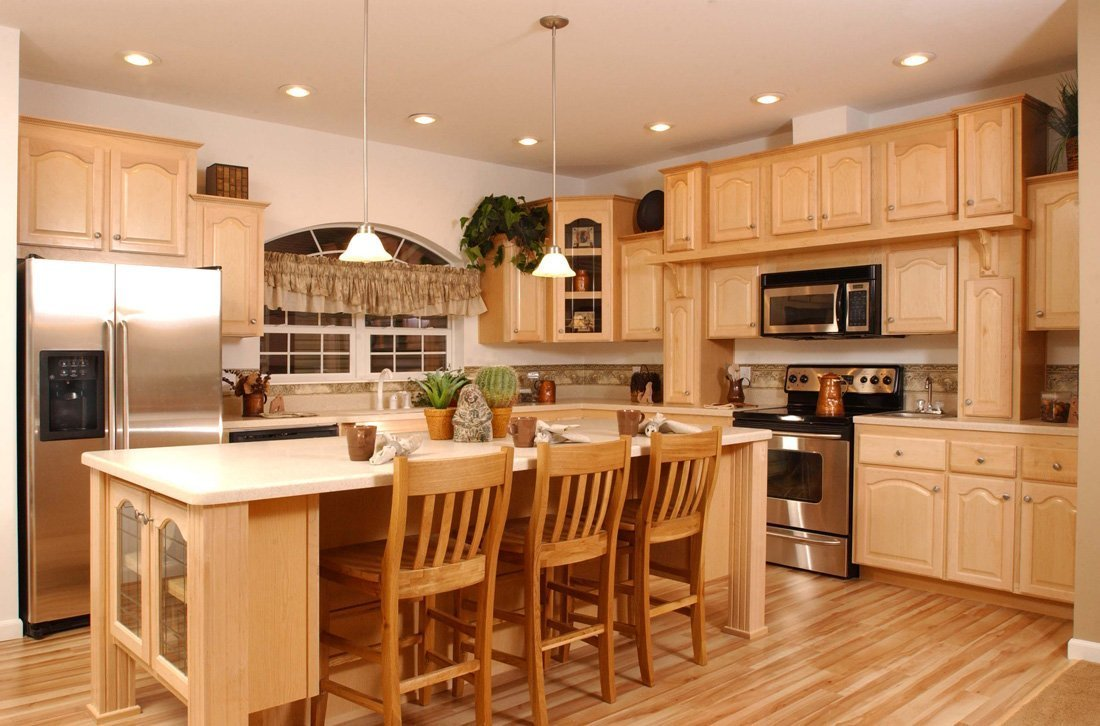 Kitchen Colors with Maple Cabinets - Home Furniture Design