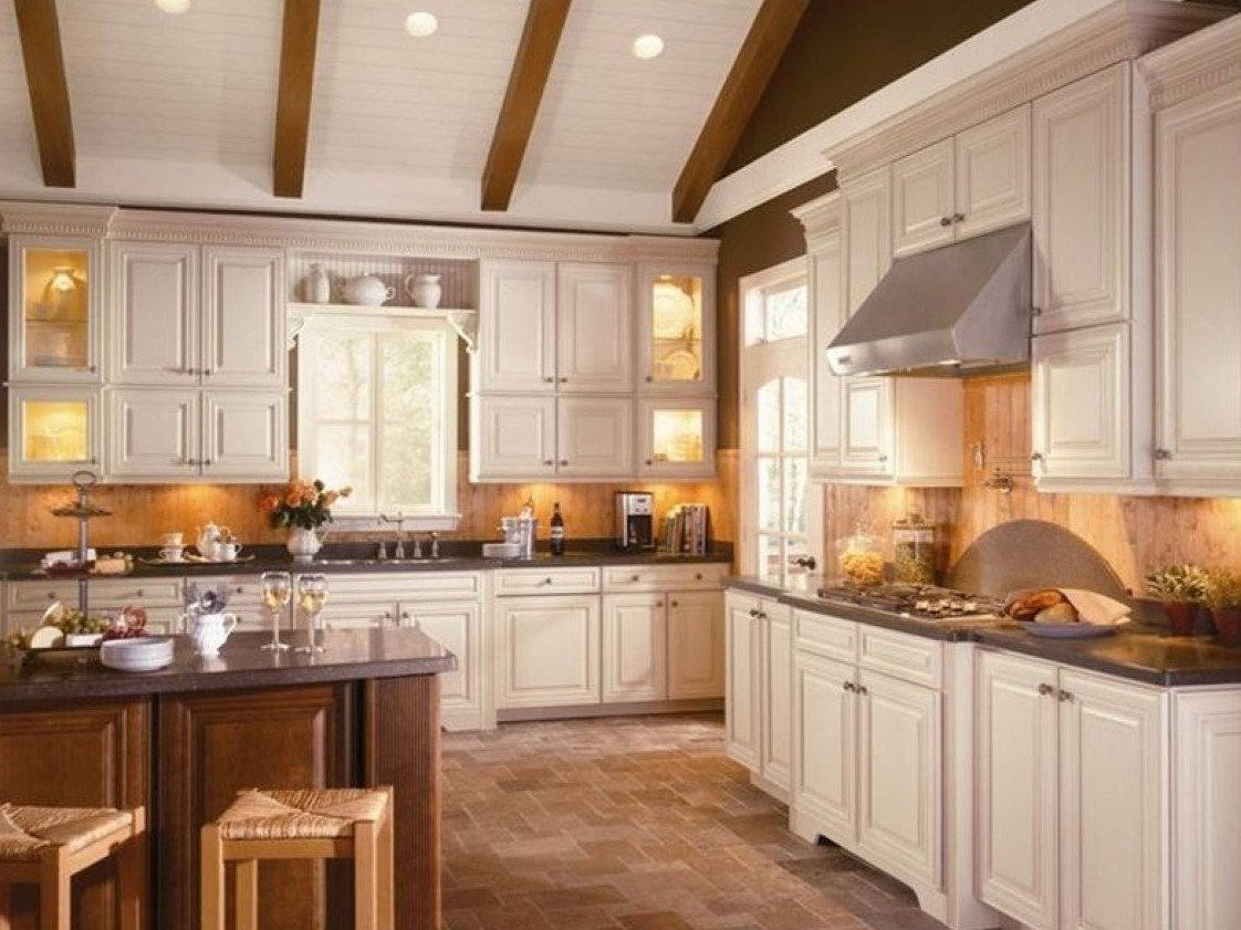 Kitchen designs with white cabinets home furniture design for Kitchen remodel ideas with white cabinets