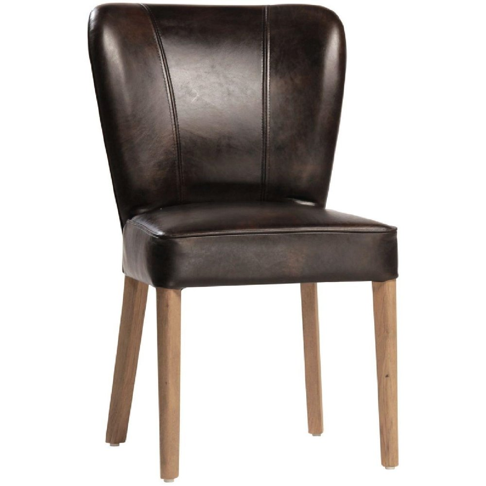 Role Of Leather Dining Chairs Home Furniture Design
