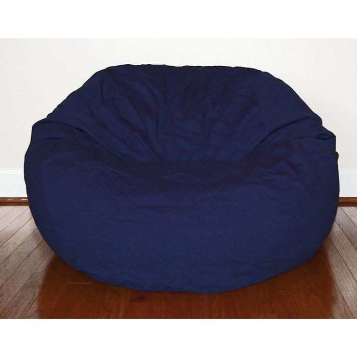 Navy Blue Bean Bag Chair Home Furniture Design