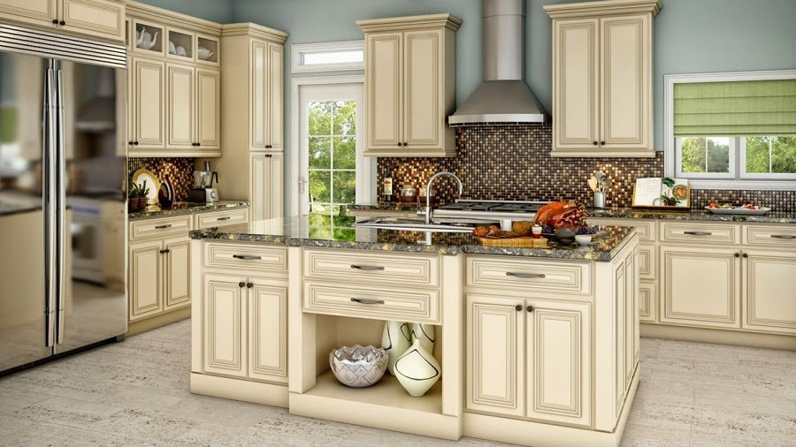 Antique kitchen design ideas 2017 2018 best cars reviews for Images of off white kitchen cabinets