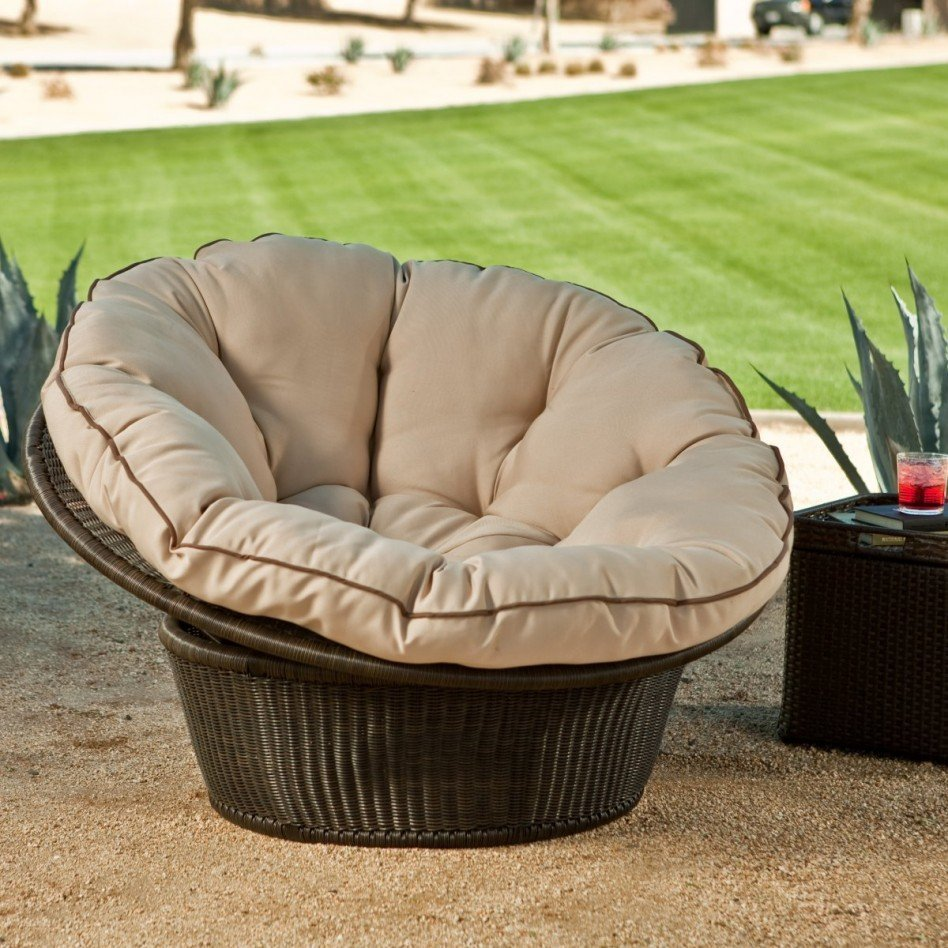 Outdoor Papasan Chair Home Furniture Design