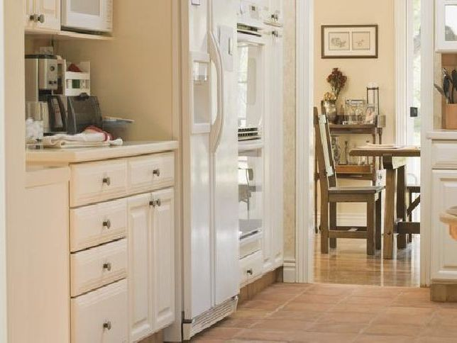 Painting Kitchen Cabinets Antique White Home Furniture Design