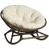 Decorating By Placing Papasan Chair Home Furniture Design