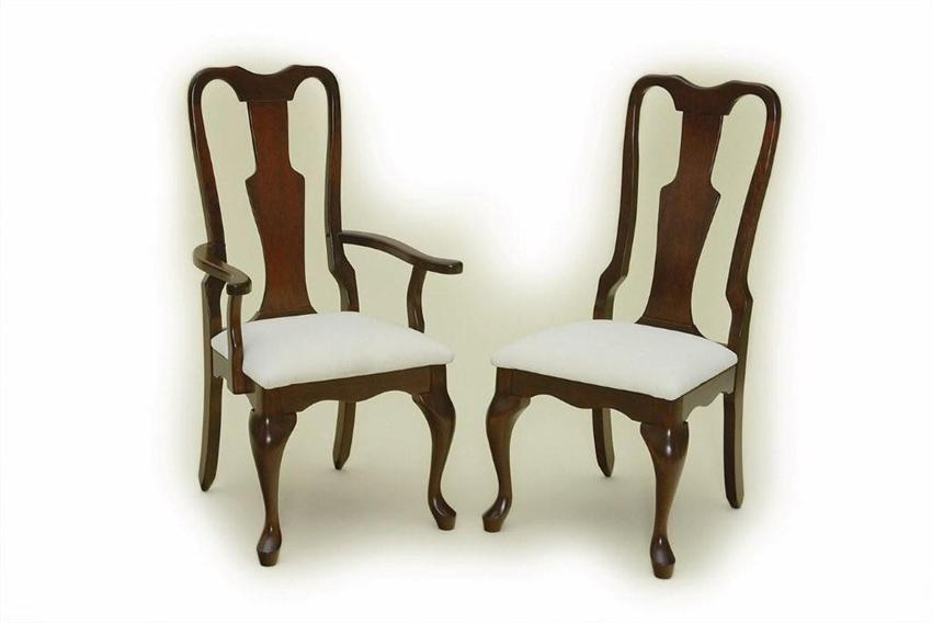 Queen anne dining room chairs home furniture design for Dining room chairs queen anne