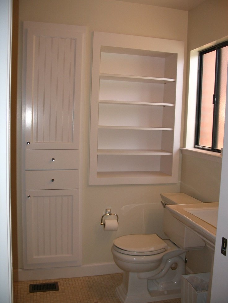 Recessed Bathroom Storage Cabinet Home Furniture Design