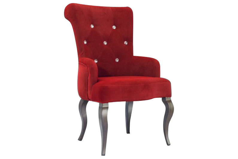 Red Upholstered Dining Chairs Home Furniture Design