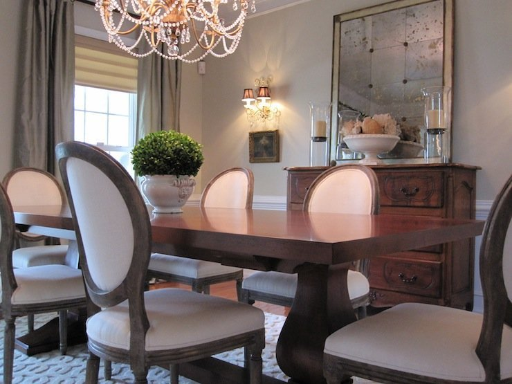 Restoration hardware dining room chairs home furniture for Restoration hardware dining room ideas