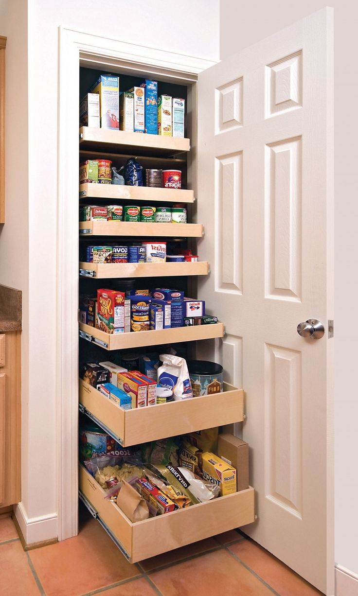 Small kitchen pantry cabinet home furniture design for Kitchen closet ideas