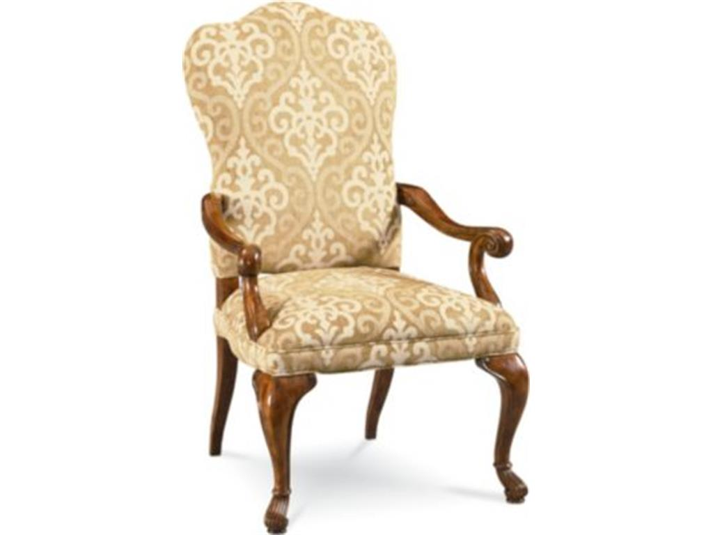 Upholstered Dining Chairs With Arms Home Furniture Design