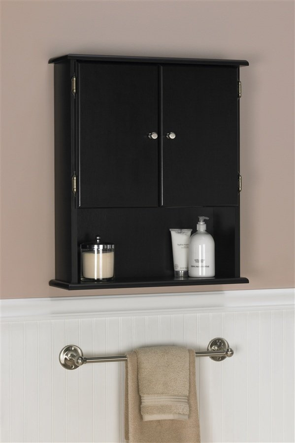 Perfect Collection Centra 29inch Bathroom WallMounted Storage Cabinet