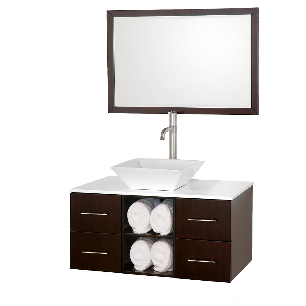 Wall mounted bathroom vanity cabinets home furniture design for Cabinets and vanities