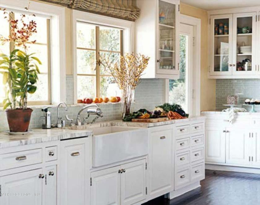 White kitchen cabinet doors home furniture design for Kitchen designs with white cabinets