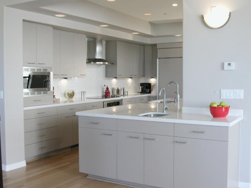 White laminate kitchen cabinets home furniture design for Looking for kitchen cabinets