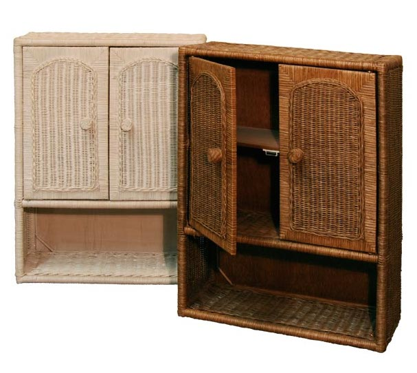 wicker bathroom wall cabinet home furniture design