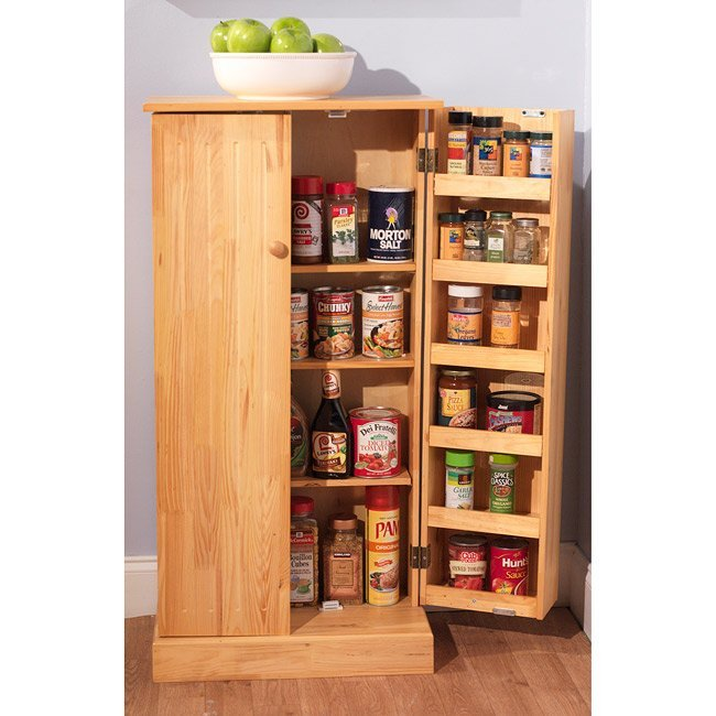 Wooden kitchen pantry cabinet home furniture design - Bathroom pantry cabinets ...