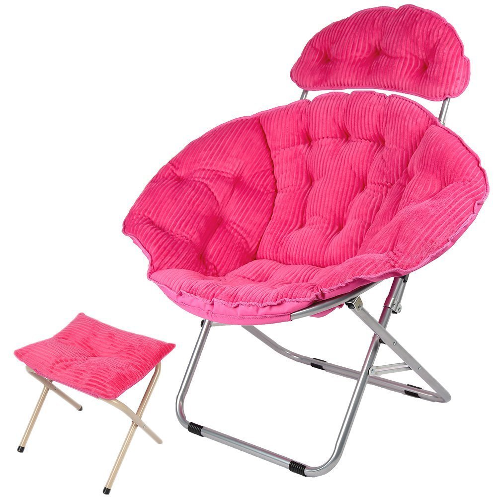 Round Foldable Chair Images Papasan Home