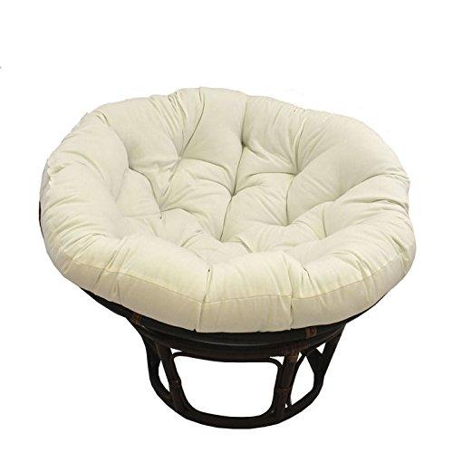 White Papasan Chair Home Furniture Design
