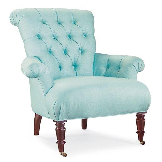 Aqua Accent Chair Home Furniture Design